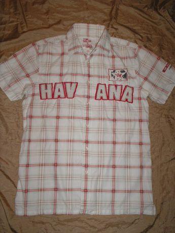 Бренд Tom Tailor Havana летняя треккинговая рубашка шведка