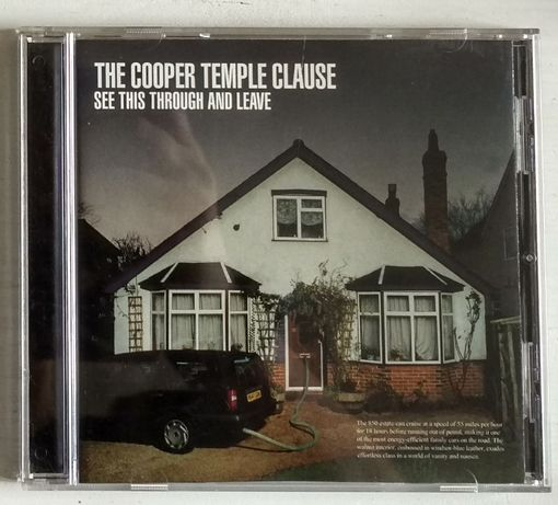 The Cooper Temple Clause See This Through and Leave CD