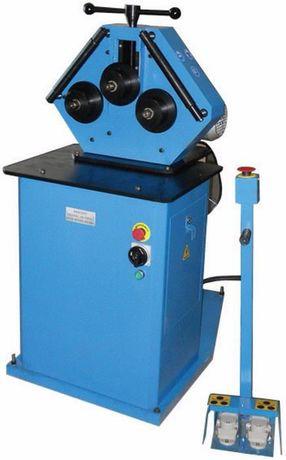 Curvadora eléctrica com três rolos para dobrar tubos