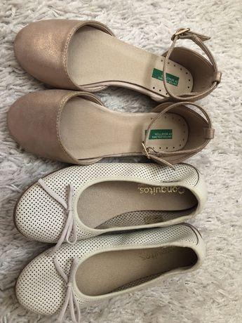 Sapatos novos Benetton t28 e Conguitos 30