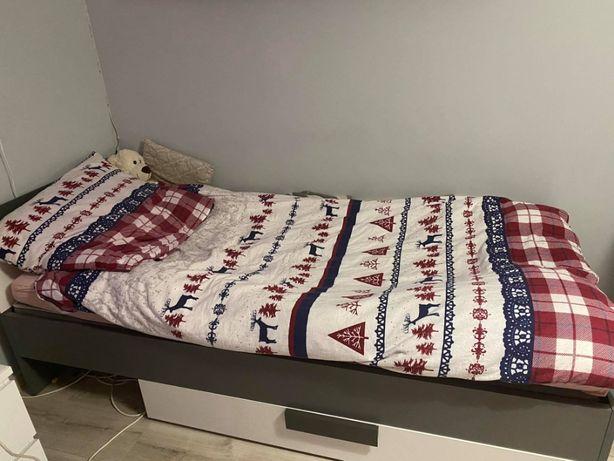 Łóżko jednoosobowe młodzieżowe FORTE LIBELLE stan bdb