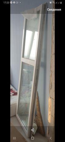 Балконная дверь металлопластиковая: КВЕ.