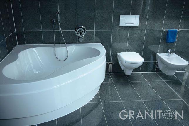 Płytki granitowe Padang Dark poler G654 grafit granit marmur duży wybó