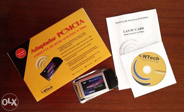 Placa wireless PCMCIA