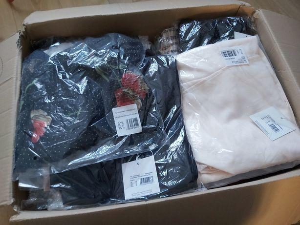 Pakiet zestaw nowych ubrań damskich metki MISSGUIDED XS-4XL