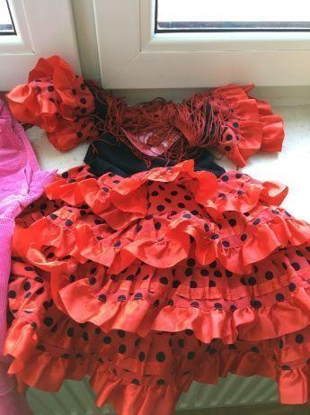 Sukienka na 2 lata rozmiar 92 z Hiszpani.
