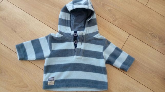 Polarek / bluza dla dziecka - 68cm (3-6m-cy) - ciepła - stan BDB!