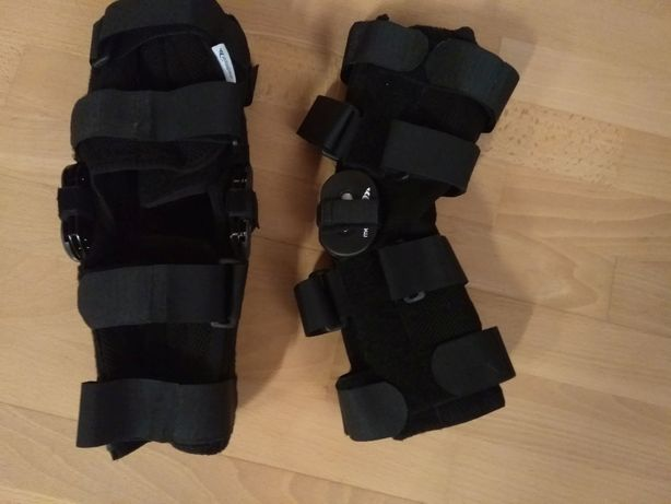 Dwie krótkie ortezy kolana firmy Mediroyal rozmiar XS