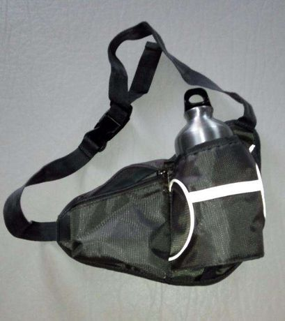 Bolsa de cintura com cantil