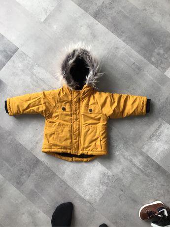 Kurtka zimowa chłopięca rozmiar 80 SMYK