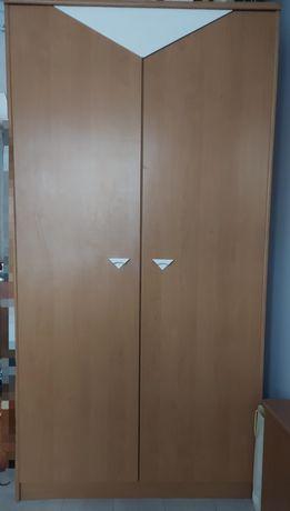 Szafa dwudrzwiowa na ubrania 95 x 181 x 54 cm