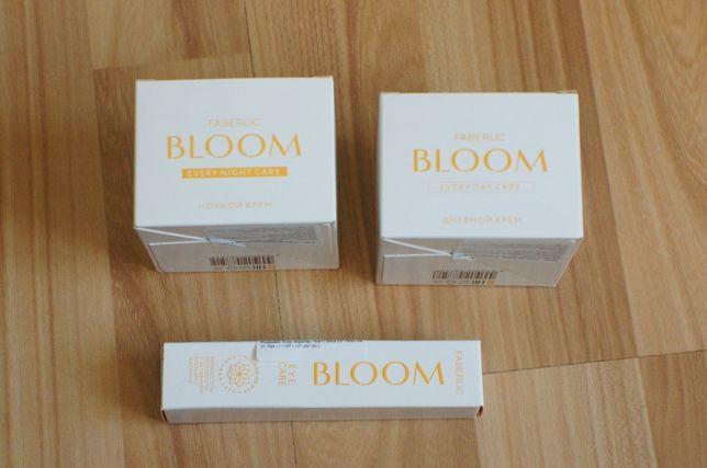 Bloom 35+ krem do twarzy na dzień noc pod oczy Faberlic p. starzeniowy
