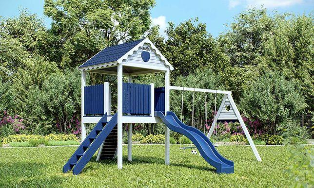 Plac zabaw, drewniany domek ogrodowy dla dzieci Wieża od Dżepetto!!!