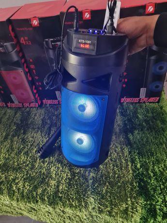 Coluna de bluetooth como o microfone nova
