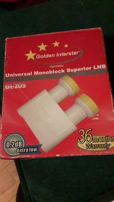 Konwerter Monoblock 0,2 dB GOLDEN INTERSTAR GI-205