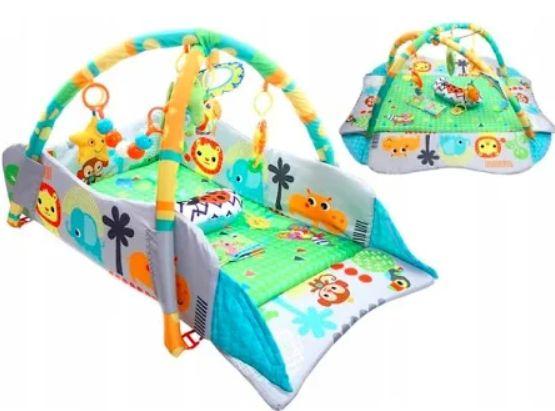 Duża Interaktywna Mata Edukacyjna 3w1 Kinder Play
