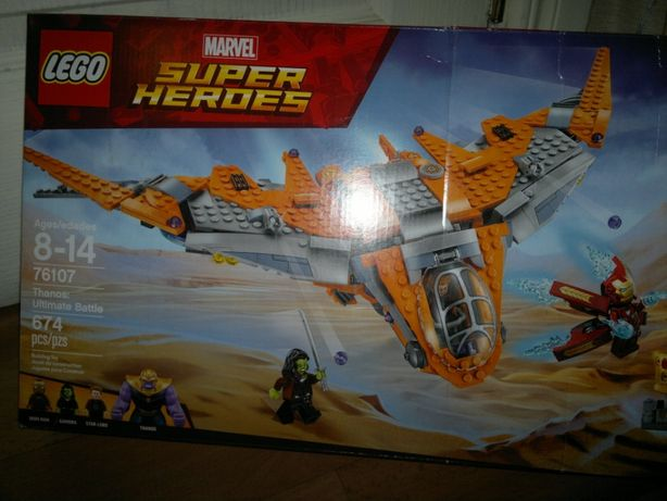 LEGO Marvel Super Heroes Avengers: Thanos: Ultimate Battle 76107
