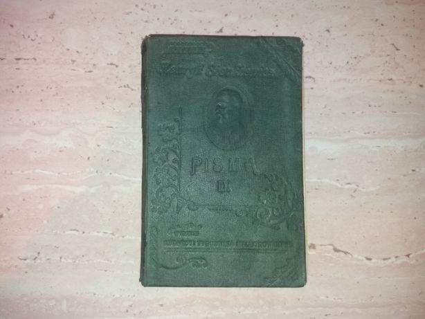 Książka PISMA IX Henryk Sienkiewicz 1899 r.