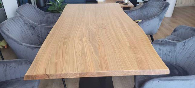 Stół jadalniany z drewna CZEREŚNI, DĘBOWY, JESIONOWY