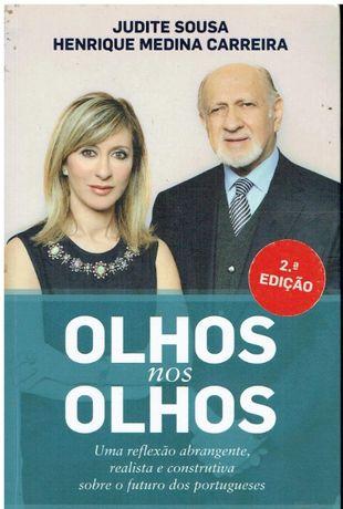 10581 Olhos nos Olhos de Judite Sousa e Henrique Medina Carreira
