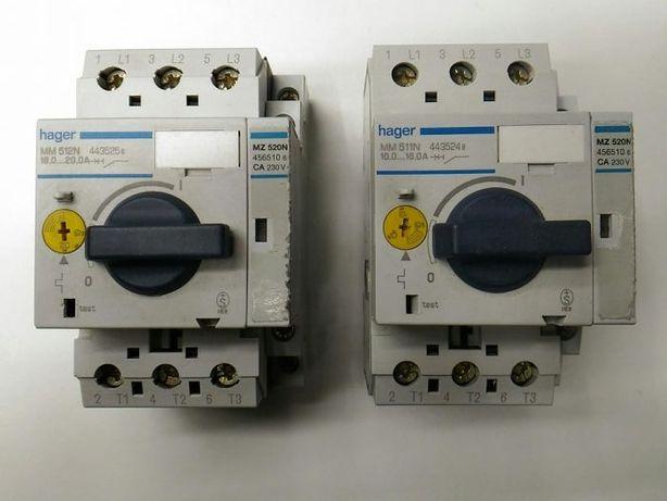 Disjuntor Motor com contacto aux. sinaliz.