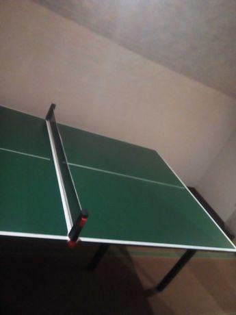 Столешня для теннисного стола (+сетка, ракетки, шарики)