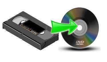 Conversão VHS / VHS-C / Hi8 / Mini DV para DVD (digitalização de vídeo