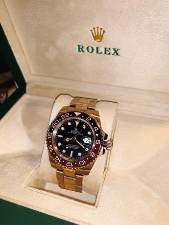 Rolex GMT-Master II CHNR VRF 18K RG Wrapped Black Dial Swiss 2836