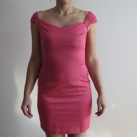 MOHITO malinowa-koralowa sukienka roz. 36