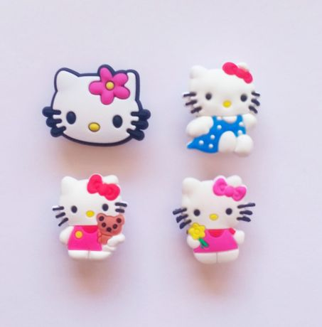 Pins da Hello Kitty para crocs ou pulseiras