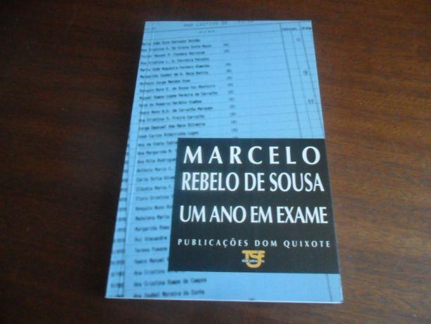 """""""Um Ano em Exame"""" de Marcelo Rebelo de Sousa 1ª Edição de 1994"""