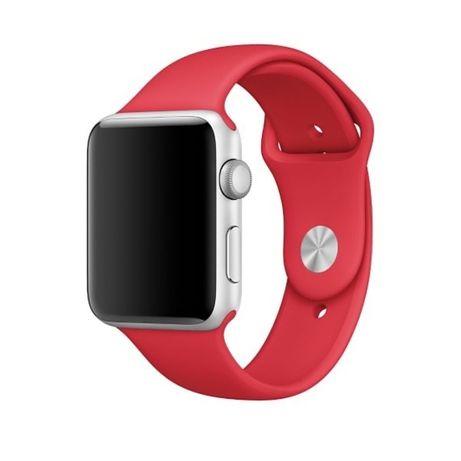 Czerwony pasek do Apple Watch 38/40 mm