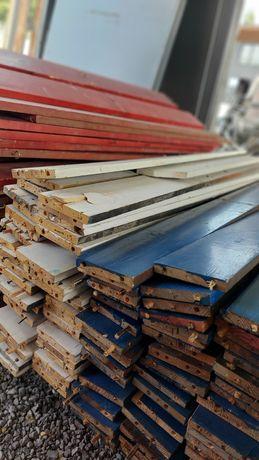 Доска крашенная для интерьера ,потолок, поддон, палет