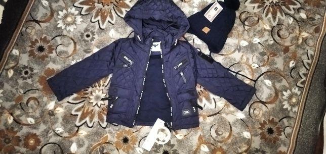 Курточка осень-весна на мальчика.