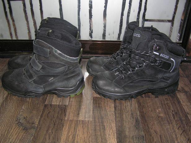 Ботинки зимние Ecco термоботинки для мальчика Оригинал