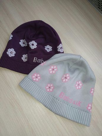 Продам шапочки на девочек 5-6 лет