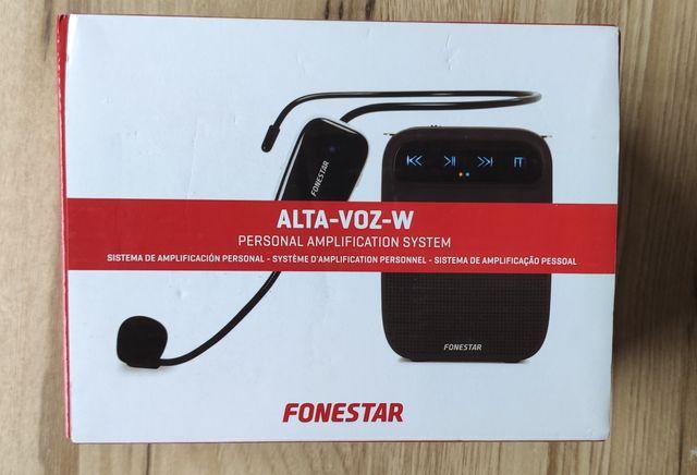Bezprzewodowy wzmacniacz głosu Fonestar Alta-Voz-W
