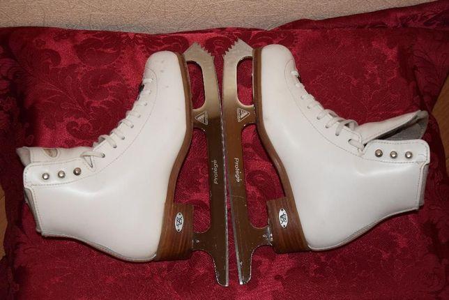 Профессиональные коньки Riedell 25 TS стелька 22 см.