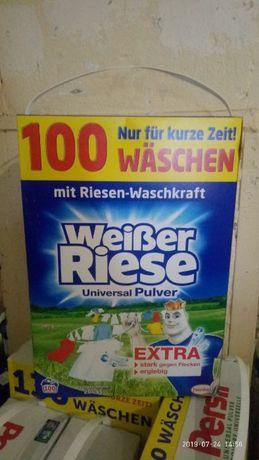 """Стиральный порошок Weiber Riese """"Германия"""" 5,5 Kg. Дост. Бесплатная"""