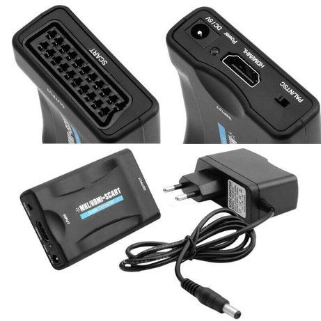 Conversor HDMI para SCART (video e aúdio) (Novo)
