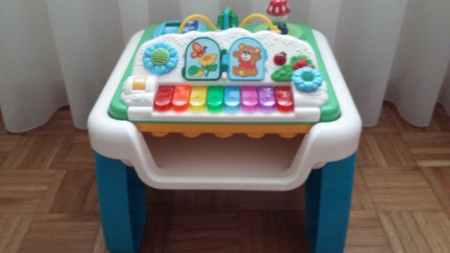 Mesa-com piano e outras atividades sonoras CHICCO