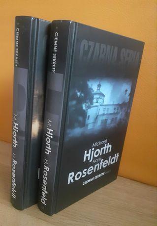 Czarna seria książka Ciemne sekrety kryminał Hjorth Rosenfeldt