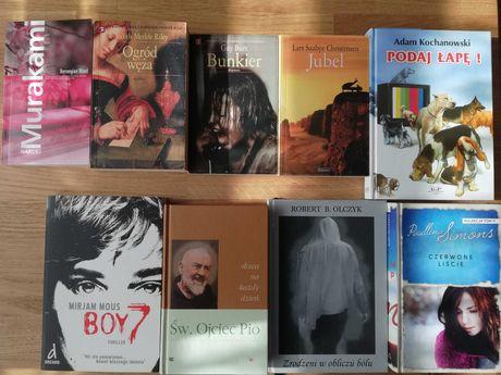 Książki dla dorosłych wyprzedaż za 5 zł sensacje poezja obyczajowe