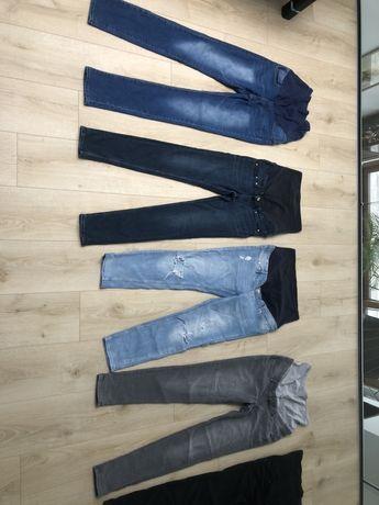 Spodnie ciążowe i legginsy rozmiar 38/m i 36/s
