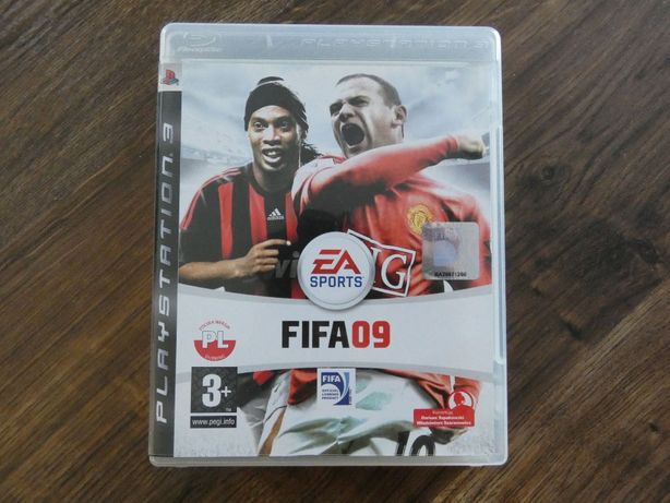 Gra FIFA 09 na PS3