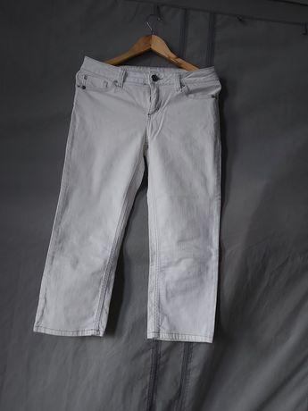 Spodnie,  biale rybaczki