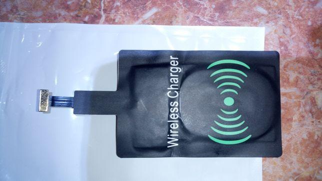 беспроводное универсальное зарядное тип- С и тип-micro usb