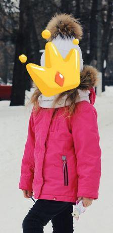 Термо куртка на девочку,куртка пуховик,зимняя куртка