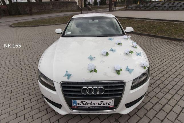 Dekoracja/przystrojenie samochodu/ozdoby/stroik/na samochód/auto/ślub