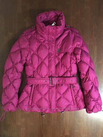 Burberry оригинал теплая зимняя пуховая куртка пуховик